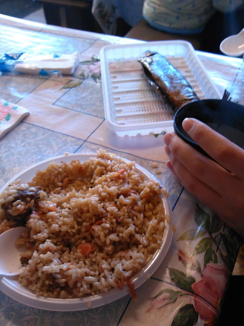 Вкуснейший омуль и плов - must eat