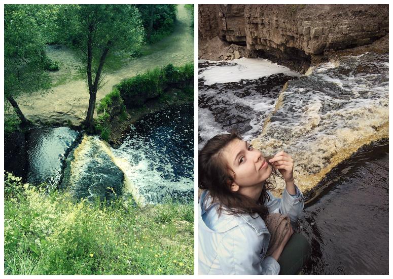 Знакомьтесь, Саблинский водопад