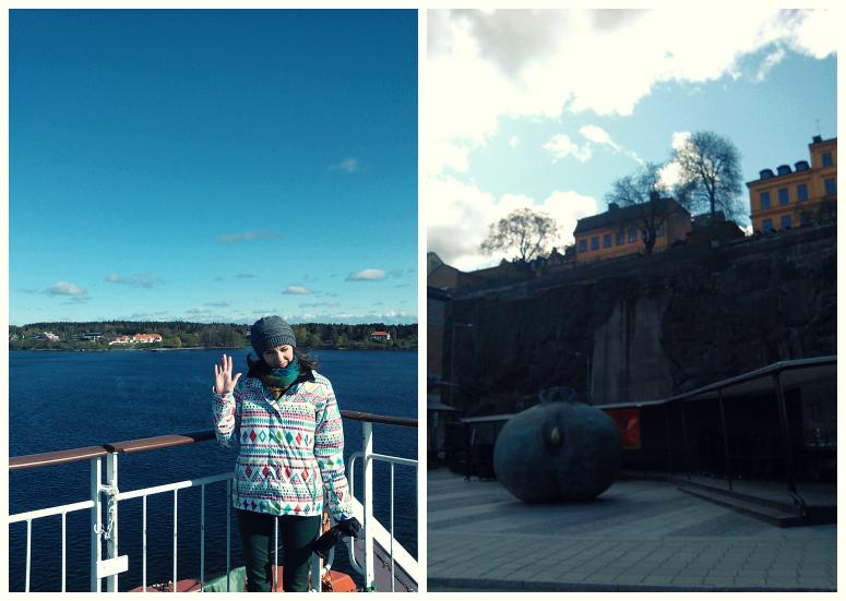 На борту и на набережной. Стокгольм