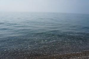 Чистое и теплое море. Такой воды я не встречал ни в одном другом месте Черного моря.