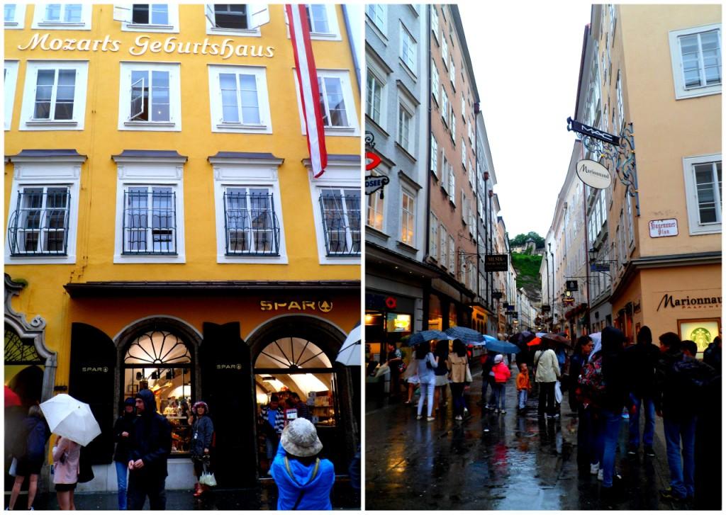 Дом Моцарта и та самая наикрутейшая улица