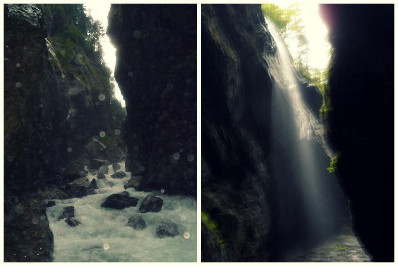 Ущелье с водопадами. Решайте сами
