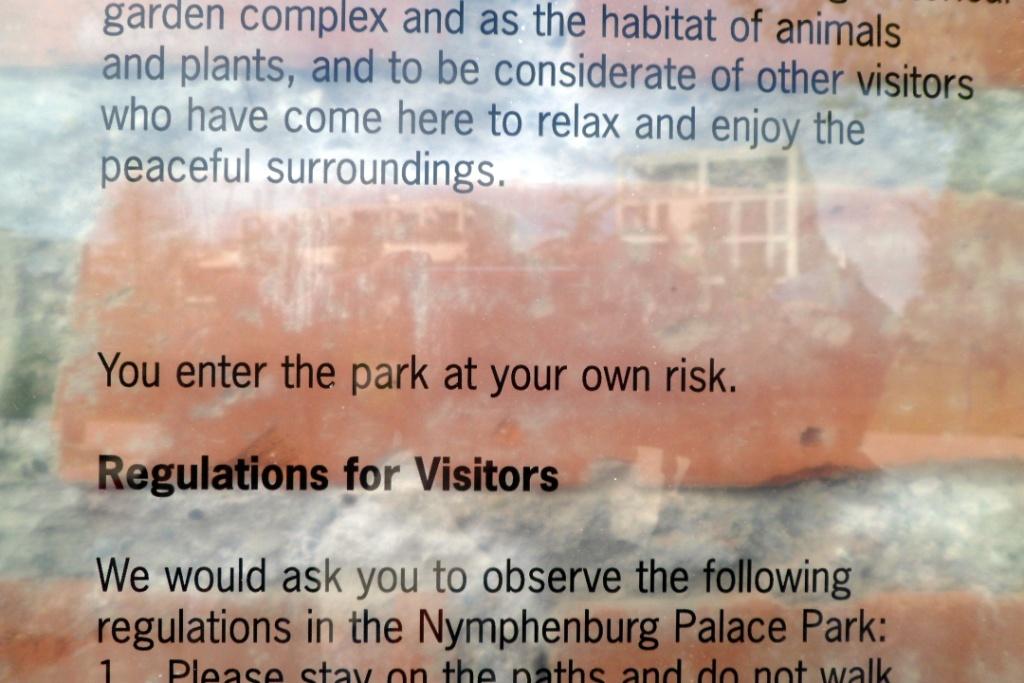 Вход в парк на свой страх и риск