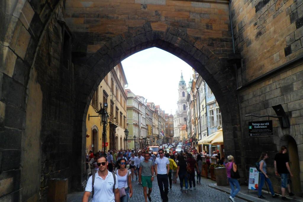 Обычный день в центре столицы Чехии
