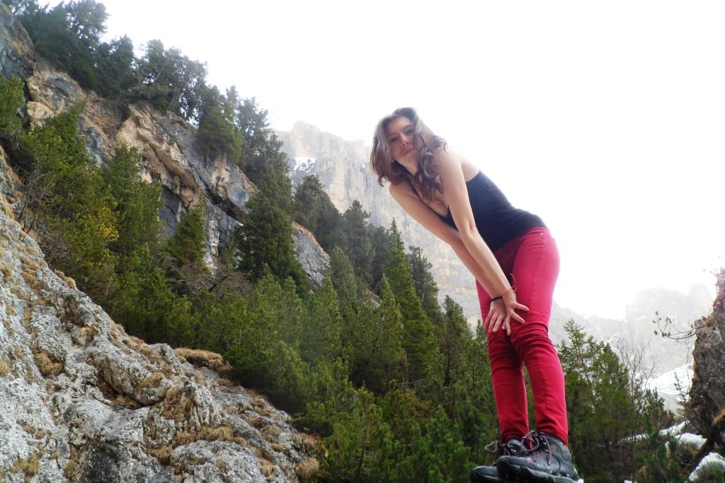Katia and Mountains