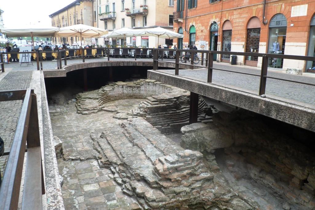Древняя дорога в Вероне