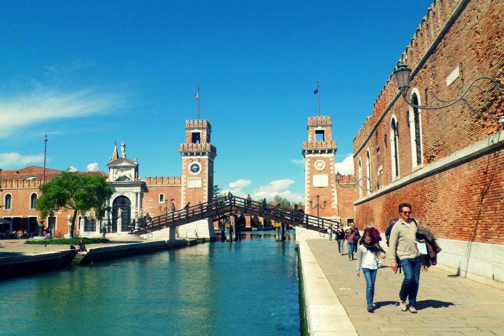 арсенальные башни в венеции