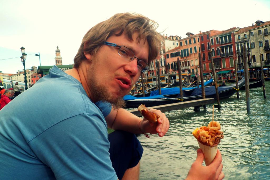 Sea fastfood в Венеции