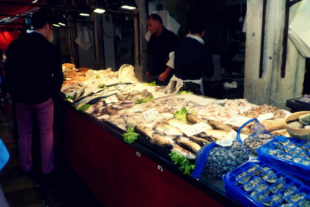 морепродукты в Венеции