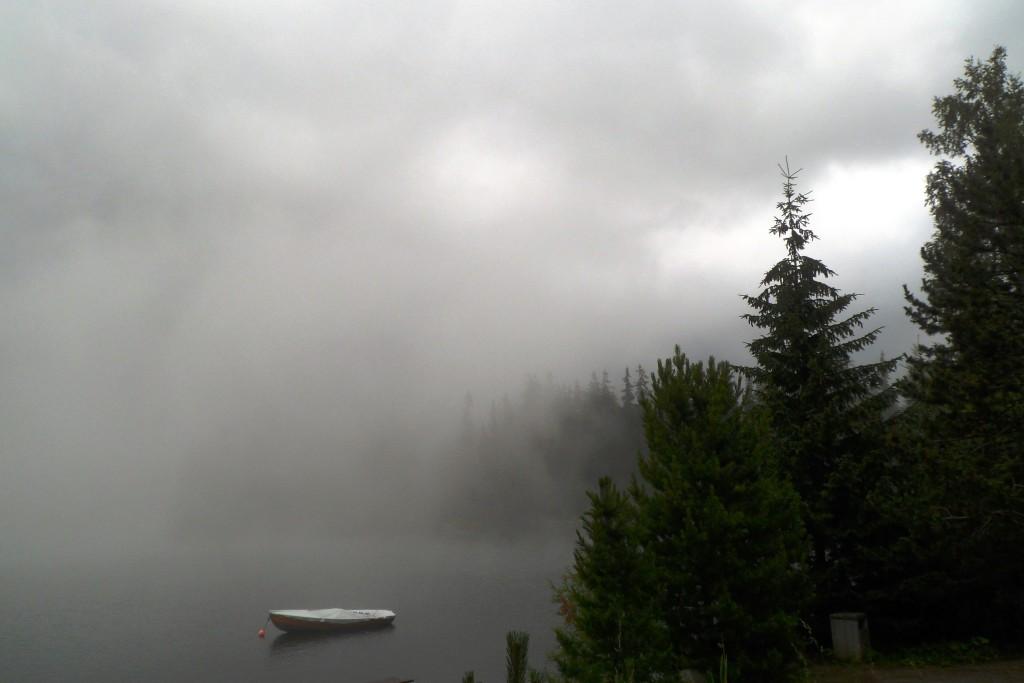 Стебско Плесо в тумане