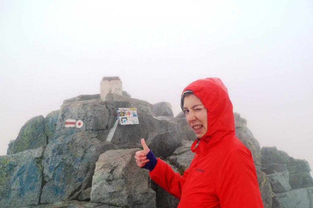 Высшая точка Татр
