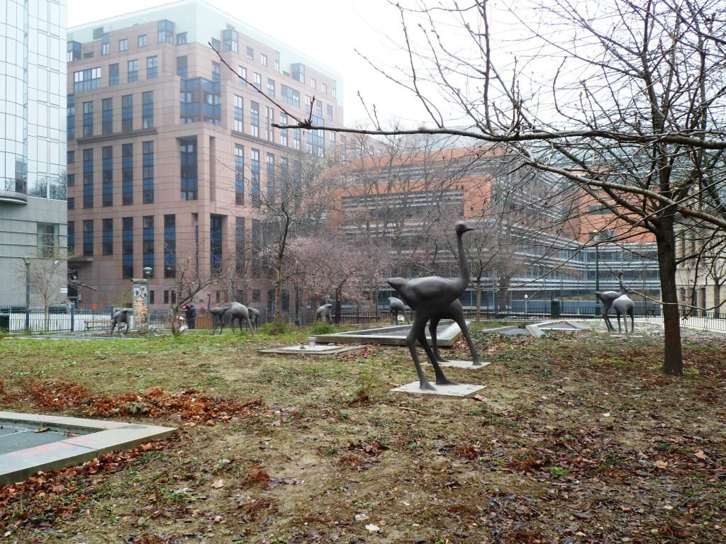 Место в Брюселле, где раньше был зоопарк