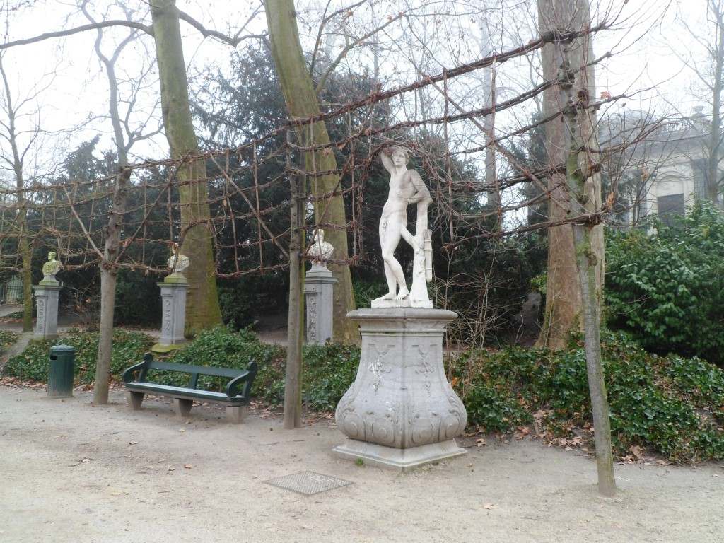 Парк в Брюселле