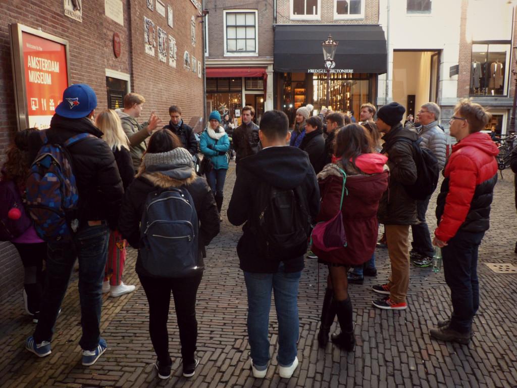 беплатная экскурсия по Амстердаму