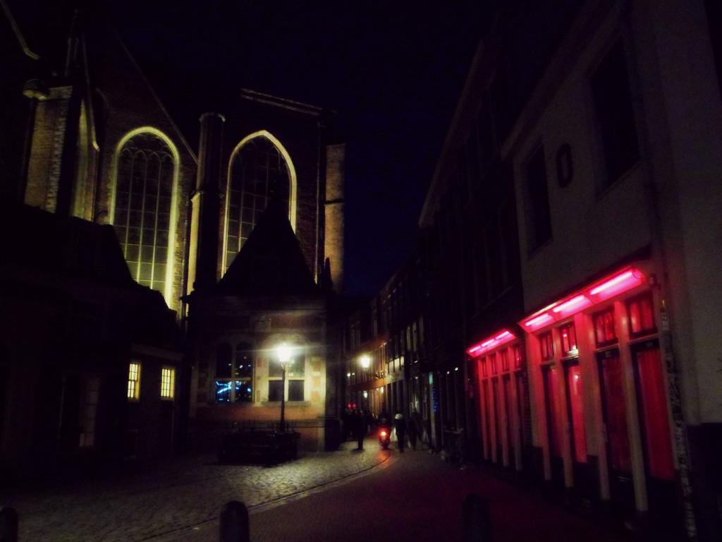 проституция и церковь в Амстердаме