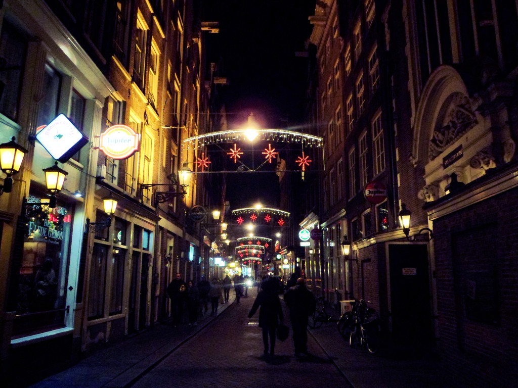 рождество в Амстердаме