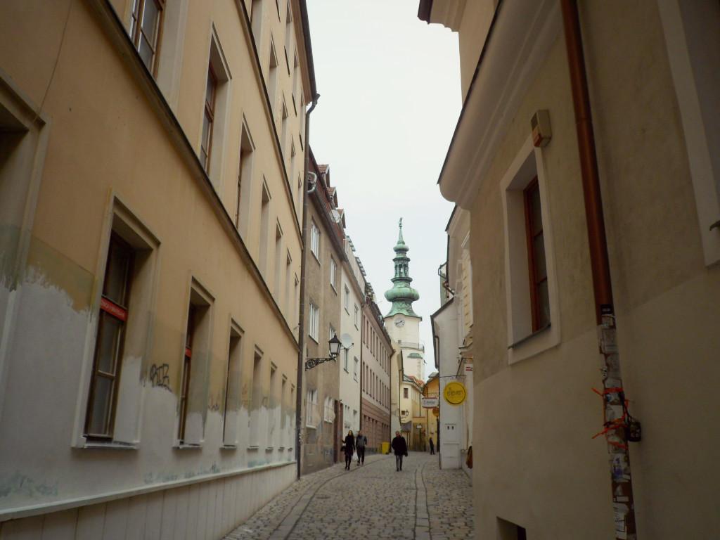 v centre Bratislavi
