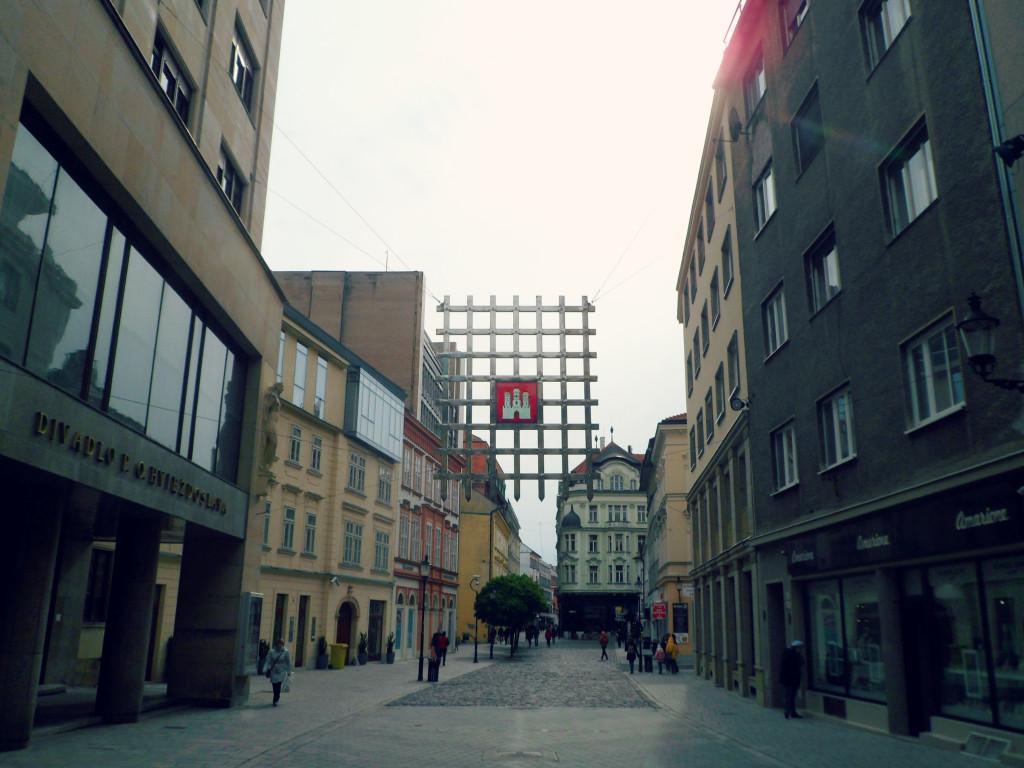 ulici Bratislavi