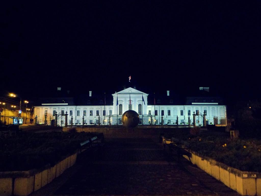 dvorec slovakskogo prezidenta